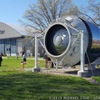 Dedication of Shuttle-Centaur Booster