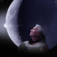 Gene Cernan the last man on the Moon image crdit James Vaughan SpaceFlight Insider