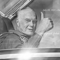 John Glenn NASA astronaut image credit James Vaughan SpaceFlight Insider color image 2