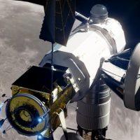 Lunar-bound spacecraft. Image Credit Nathan Koga SpaceFlight Insider