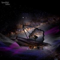 NASA James Webb Space Telescope in space image credit James Vaughan SpaceFlight Insider