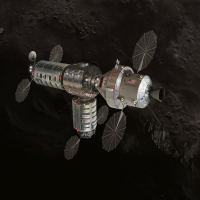 Orbital ATK lunar habitat image credit James Vaughan SpaceFlight Insider