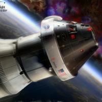 NASA Orion spacecraft image credit James Vaughan SpaceFlight Insider
