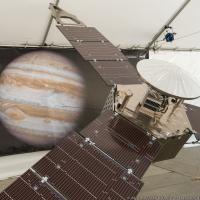 Juno spacecraft arrival at Jupiter