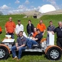 Lunar Replica Arrival at GRC