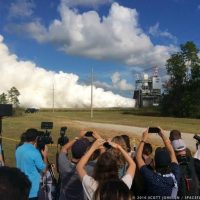 RS-25 0528 Engine Test