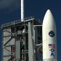 United Launch Alliance Atlas V 551 rocket with the AEHF-4 satellite. Photo Credit: Graham L. Smith / SpaceFlight Insider