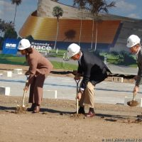 Atlantis Exhibit Groundbreaking at KSC
