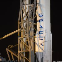 SpaceX Falcon9 CRS5 on the Pad