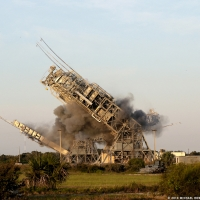 Demolition of Canaveral's Launch Complex 17