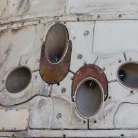 RCS Thruster Quad on Dragon Capsule