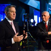 KSC Administrator Bob Cabana and NASA Administrator Charlie Bolden