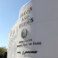 Heroes and Legends Exhibit Opening