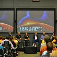Journey to Mars event discussing The Martian