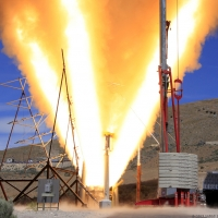 Launch Abort Motor QM-1 Test Fire