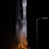 Atlas V Liftoff carrying Morelos-3