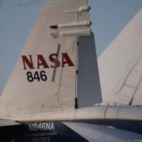 NASA F 18 Chase Plane
