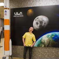 Phil Plait and FIT visit ULA Facilities