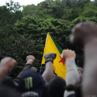 Protests at Guiana Space Centre