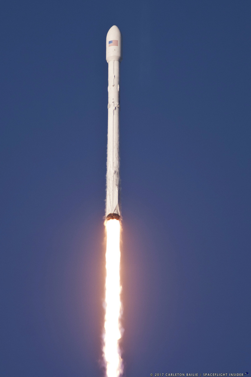 photo gallery  spacex launches ses