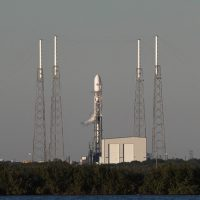 Space Exploration Technologies, SpaceX, Full Thrust, Falcon 9, rocket, Cape Canaveral Air Force Station, Space Launch Complex 40, SLC-40, satellite, SES-8