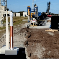 SLC-41 Crew Access Tower Groundbreaking