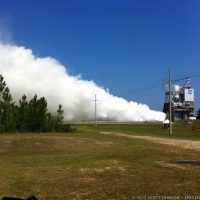 SLS RS-25 Engine Test