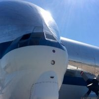 Super Guppy Transports Orion Upper Stage