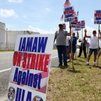 ULA Workers Strike