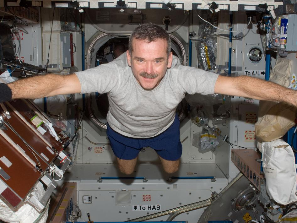 Astronaut Chris Hadfield has released: :An Astronaut's Guide to Life on Earth. Photo Credit: NASA
