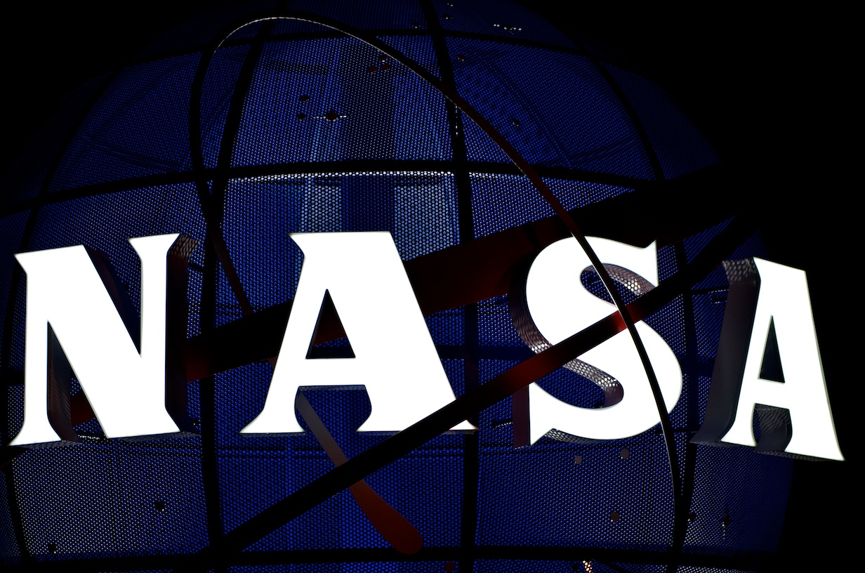 NASA logo Kennedy Space Center photo credit Jeffrey J. Soulliere The SpaceFlight Group SpaceFlight Insider