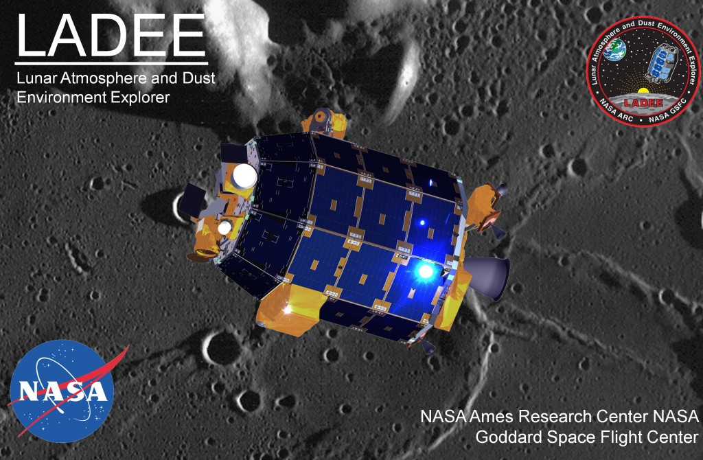 LADEE poster Moon lunar NASA image posted on the SpaceFlight Group Insider