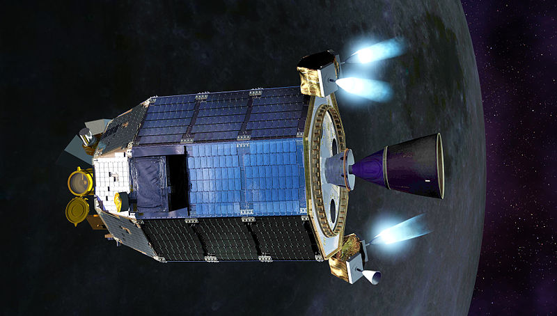 NASA's LADEE spacecraft was part of an experiment which served to validate a new method of data transfer across the void of space. Image Credit: NASA / GSFC
