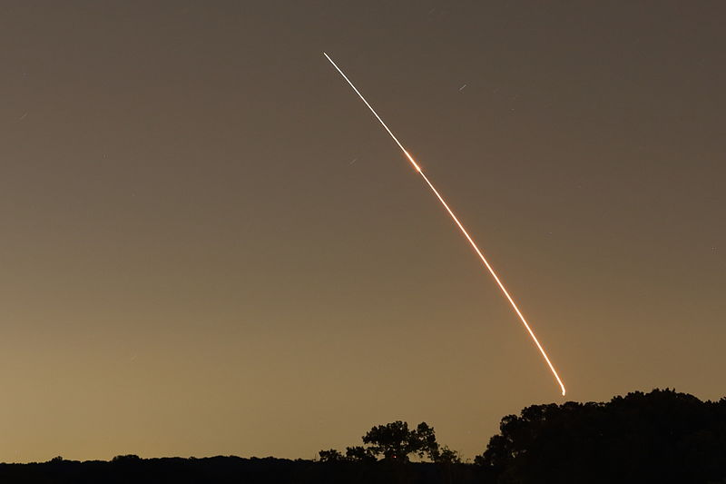LADEE launched toward the Moon in September. If all goes according to plan the spacecraft will spend about 100 days exploring phenomenon  involving dust and the lunar atmosphere. Photo Credit: Jon Hanson