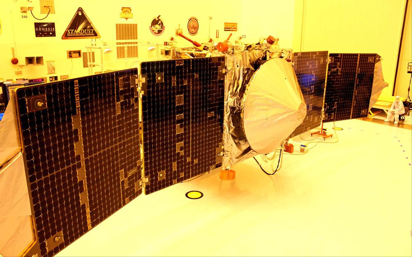 NASA MAVEN spacecraft KSC Kennedy Space Center ULA United Launch Alliance Atlas V Photo Credit Jason Rhian The SpaceFlight Group SpaceFlight Insider