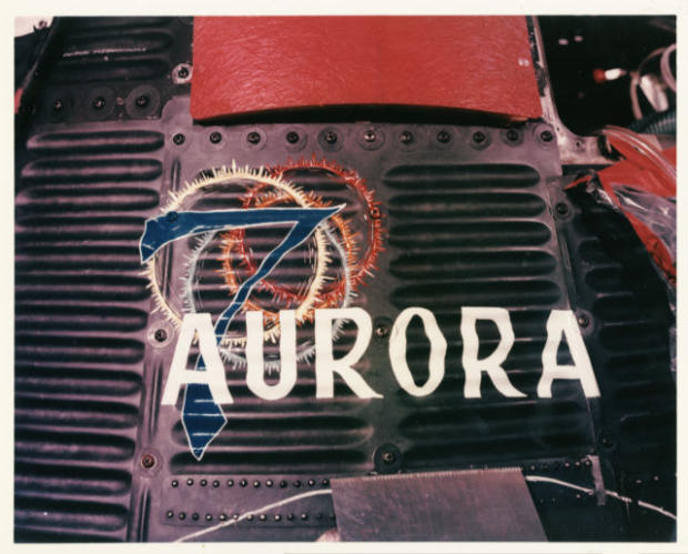 NASA image of Aurora 7 Mercury 7 Scott Carpenter spacecraft Atlas photo credit NASA posted on The SpaceFlight Group Insider