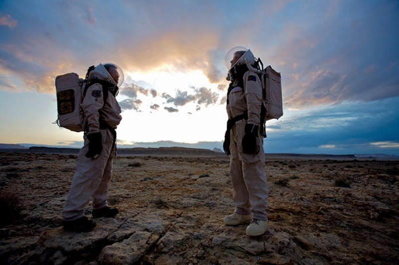 "The Mars Society is seeking six volunteers with ""The Right Stuff"" for its Mars Arctic 365 mission planned for 2014 through 2015. Photo Credit: The Mars Society"