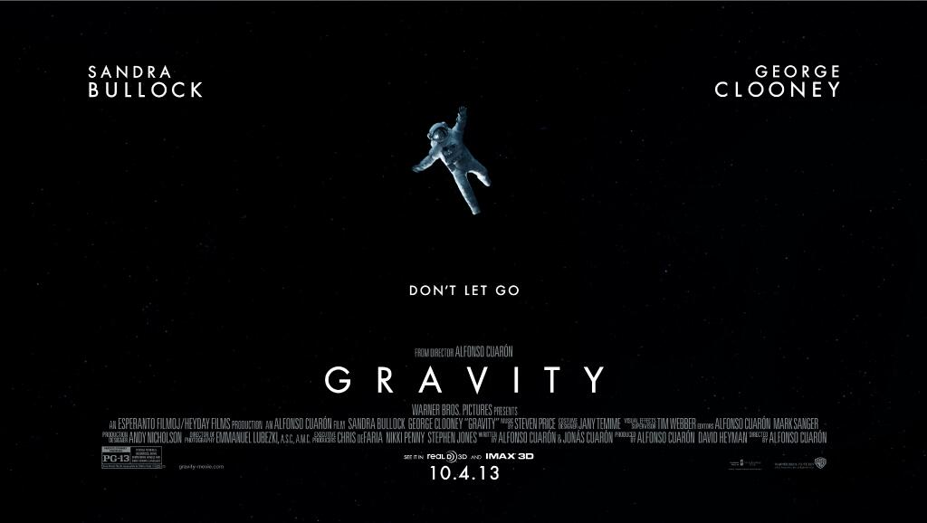 gravity-poster-banner warner bros posted on The SpaceFlight Insider
