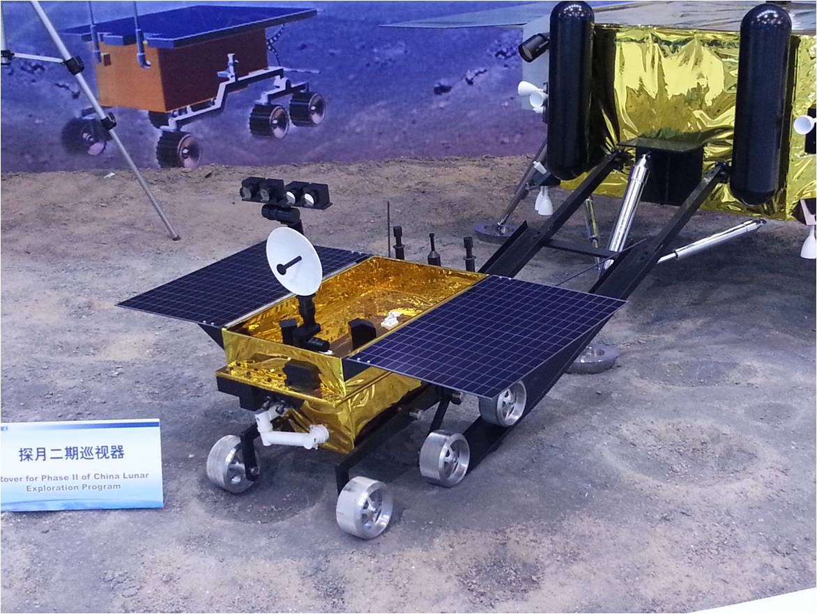 China is poised to launch the Chang'e rover to the Moon. The nuclear-powered robot has a name steeped in Chinese legend. Photo Credit: CDF