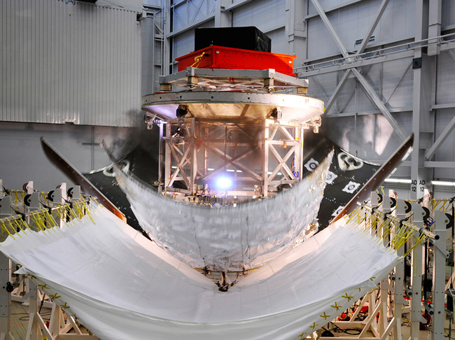 After a partial failure during a June 2013 test, Lockheed-Martin made some modifications to the design and successfully conducted a new test on Wednesday Nov. 6. Photo Credit: LMCO