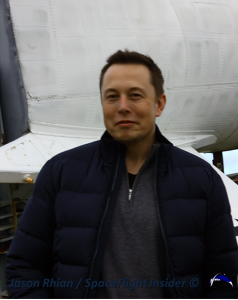 SpaceX founder Elon Musk. Photo Credit: Jason Rhian / SpaceFlight Insider