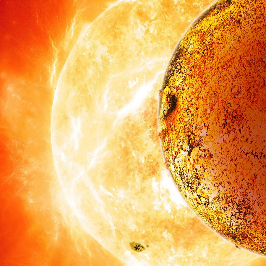 Artist's conception of Kepler-78b. Image Credit: David A. Aguilar (CfA)