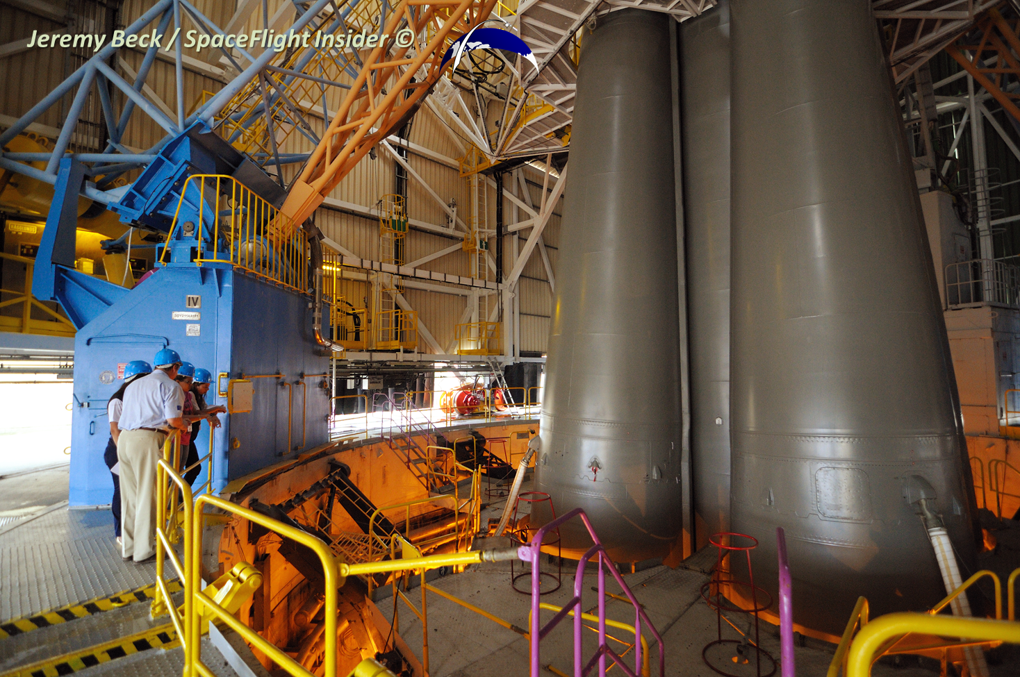 The Soyuz booster was prepped for launch on Thursday, Dec. 19. Photo Credit: Jeremy Beck / SpaceFlight Insider