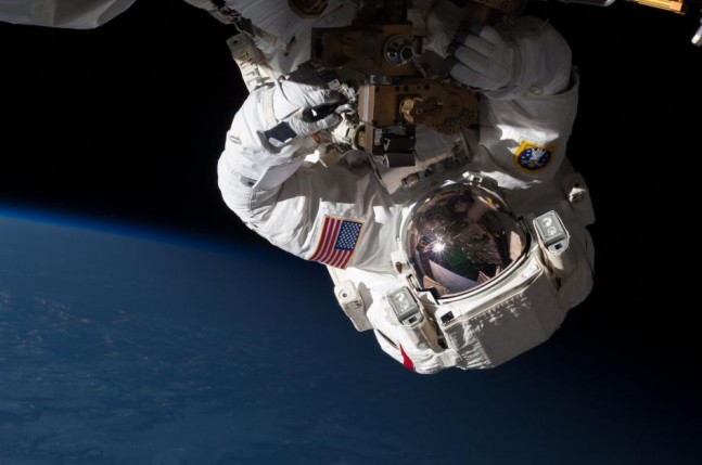 International Space Station EVA Extra-vehicular activity astronaut NASA photo posted on the SpaceFlight Group Insider