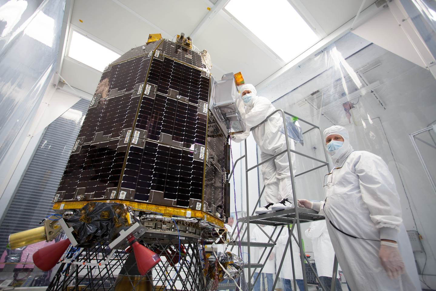 A Lunar Sunrise: LADEE Scientific Mission Profile ...