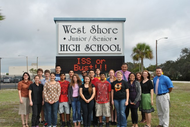 The West Shore Jr/Sr High School students Photo Credit: Amy McCormick