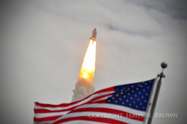 The United States' space program has been on a slow decline since the end of the Apollo Program. After this high point, NASA was only able to send crews into low-Earth-orbit. Now, the space agency is not able to accomplish even that. Photo Credit: James N. Brown / SpaceFlight Insider
