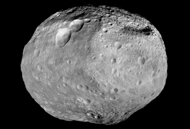 Dawn has completed its mission at Vesta and is on its way to the dwarf planet Ceres. Image Credit: NASA