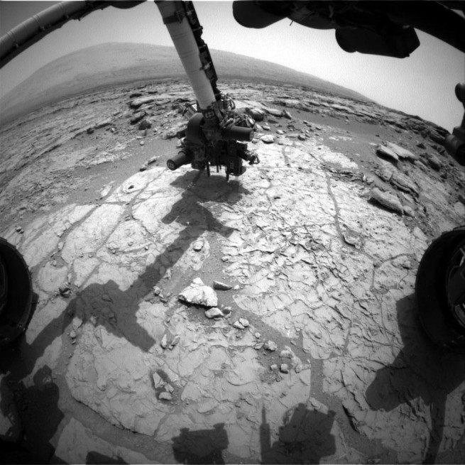 NASA's Curiosity Rover Tests a New Drill Method On Mars