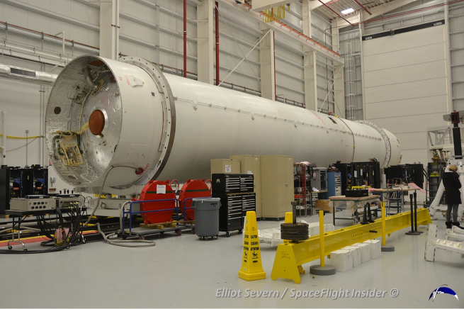Orbital Sciences Corporation has ramped up processing of the Antares rocket out at Wallops. This has brought the small space center into sharper focus. Photo Credit: Elliot Severn / SpaceFlight Insider